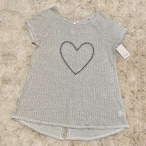 4 for $20 Heart Maternity Top